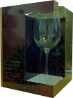 Crystal Chardonnay Glasses - Set of 4