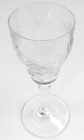 Set of 8 Beautifully Detailed Small Crystal Sherry Glasses